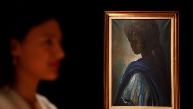 Lukisan Putri Nigeria yang Hilang 40 Tahun Lalu Ditemukan di London