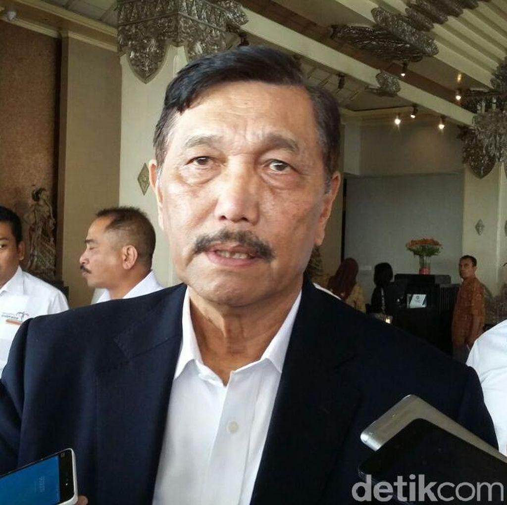 Luhut Ditelepon Prabowo Saat di Washington DC, Bahas Apa?