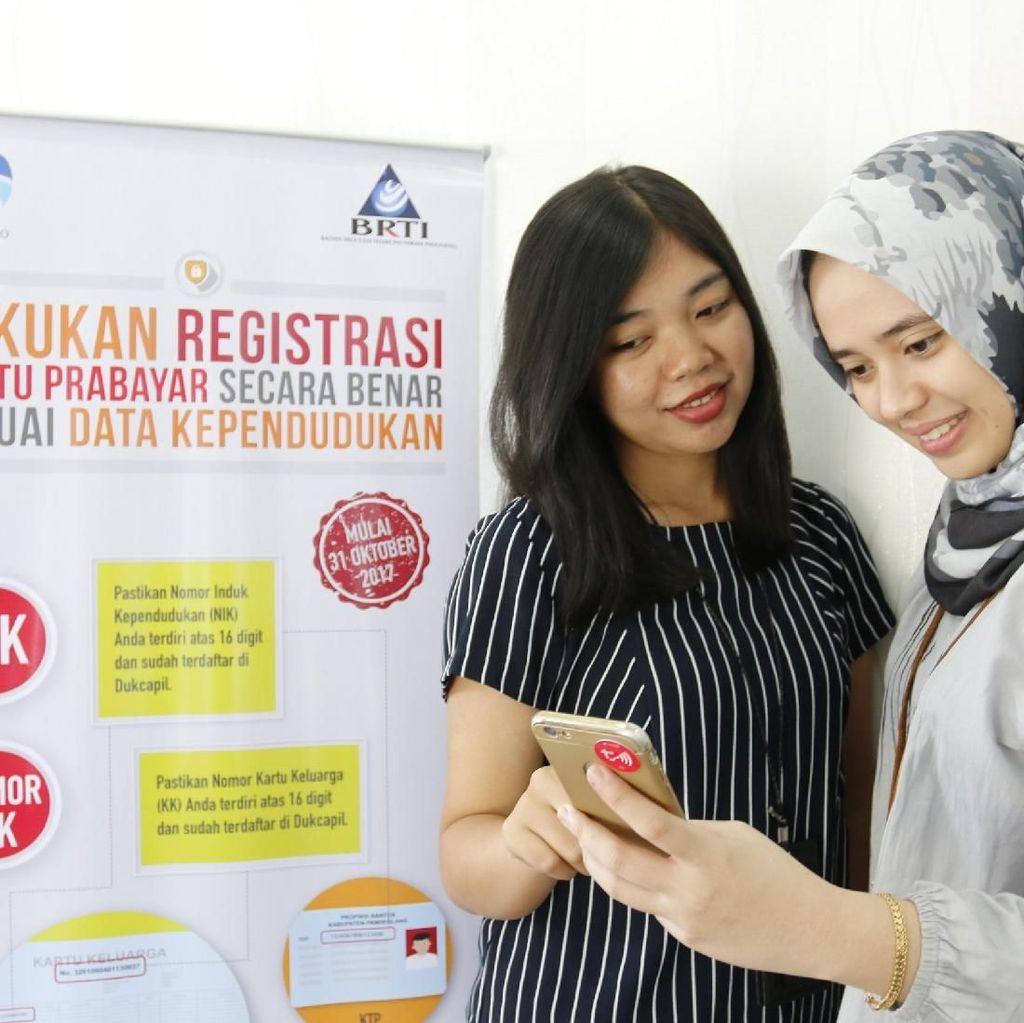 Dua Pekan Jelang Penutupan, 226 Juta SIM Card Teregistrasi
