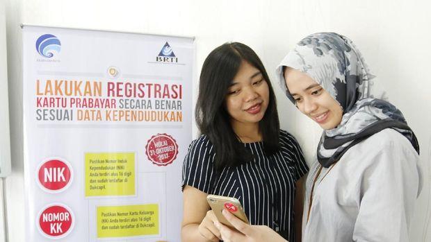 Registrasi SIM card prabayar Telkomsel