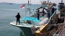 Kapal Berbendera Singapura yang Ditangkap di Batam Bawa 1,1 Ton Sabu
