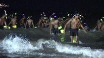 Ratusan Prajurit Siap Renang dan Dayung Taklukkan Selat Sunda