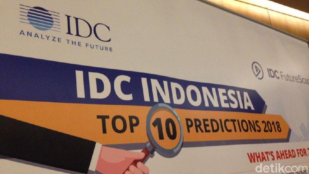 IDC Beberkan 10 Prediksi Teknologi di 2018