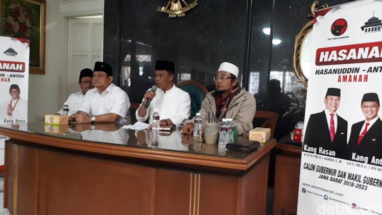 TB Hasanuddin-Anton Janji Alokasikan Rp 1 Triliun untuk Ponpes
