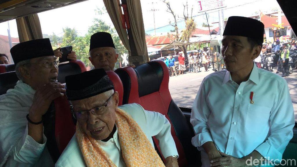 Di Depan Pemuka Agama, Jokowi Ungkit Pesan Presiden Afghanistan