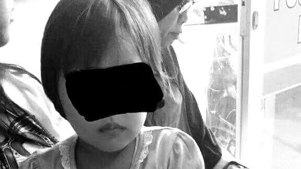 Ini Fakta di Balik Foto Viral Anak Diseret Ibu Pakai Motor di Klaten