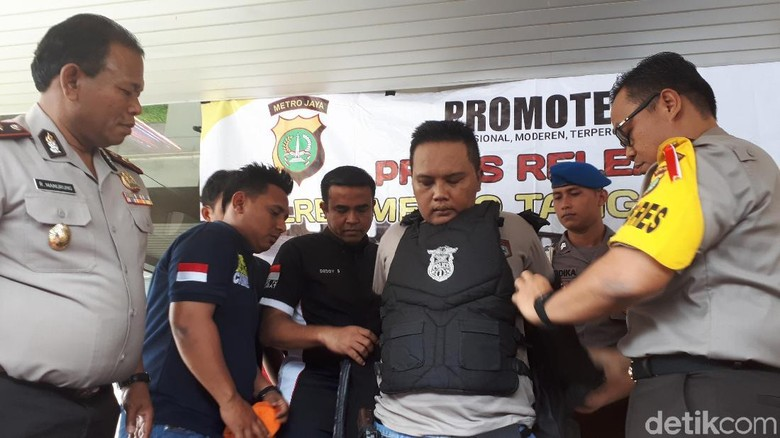Peras dan Perkosa Korban, Polisi Gadungan Ditangkap di Tangerang