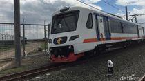 Beroperasi Lagi, Kereta Bandara Soetta Melambat di Titik Longsor
