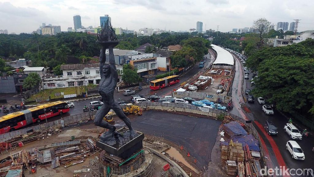 Foto: Penampakan Terkini Proyek MRT Jakarta