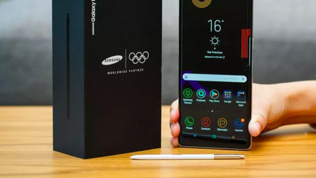 Ini Note 8 Edisi Olimpiade yang Terlarang Buat Korut