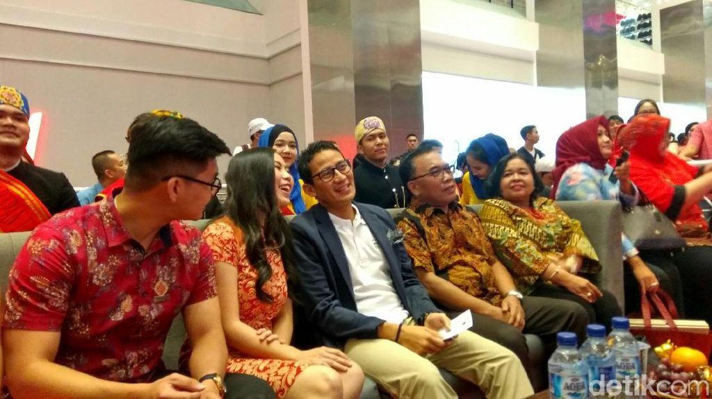 Sandi Ingin Wisatawan Asal China ke Jakarta Meningkat