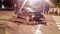 Diduga Sopir Ngantuk, 3 Mobil Kecelakaan di Menteng