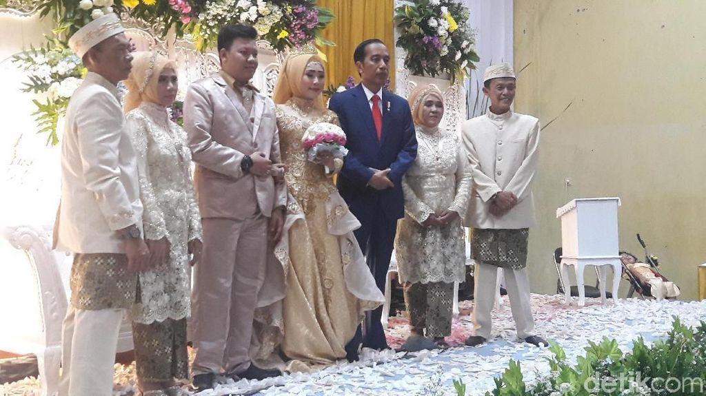 Jokowi Hadiri Pernikahan Anak Pelatih Panahnya di Bogor