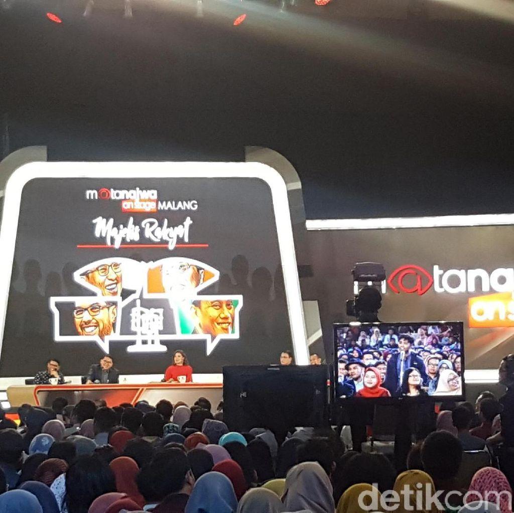 7 Ribu Mahasiswa Saksikan Mata Najwa On Stage di Malang