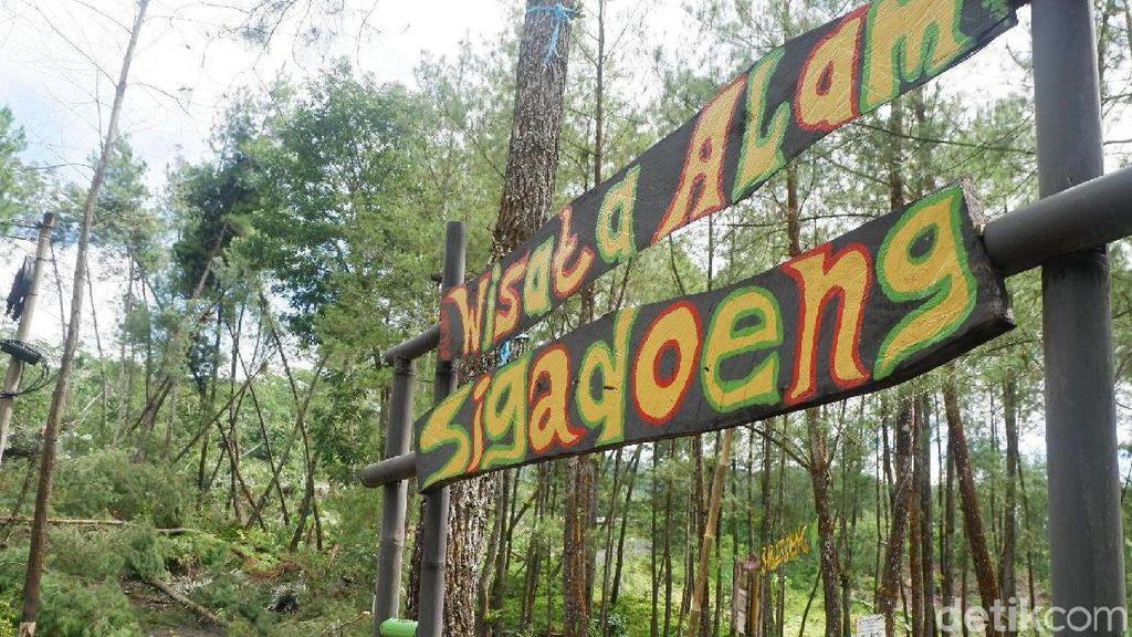 Dampak Tanah Gerak, Wisata Sigadung di Banjarnegara Tutup