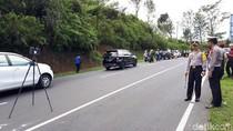 Polisi Olah TKP Bus Maut di Tanjakan Emen Gunakan Kamera 3D