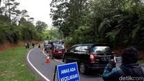 Bus Wajib Dicek Petugas Sebelum Lewat Tanjakan Emen