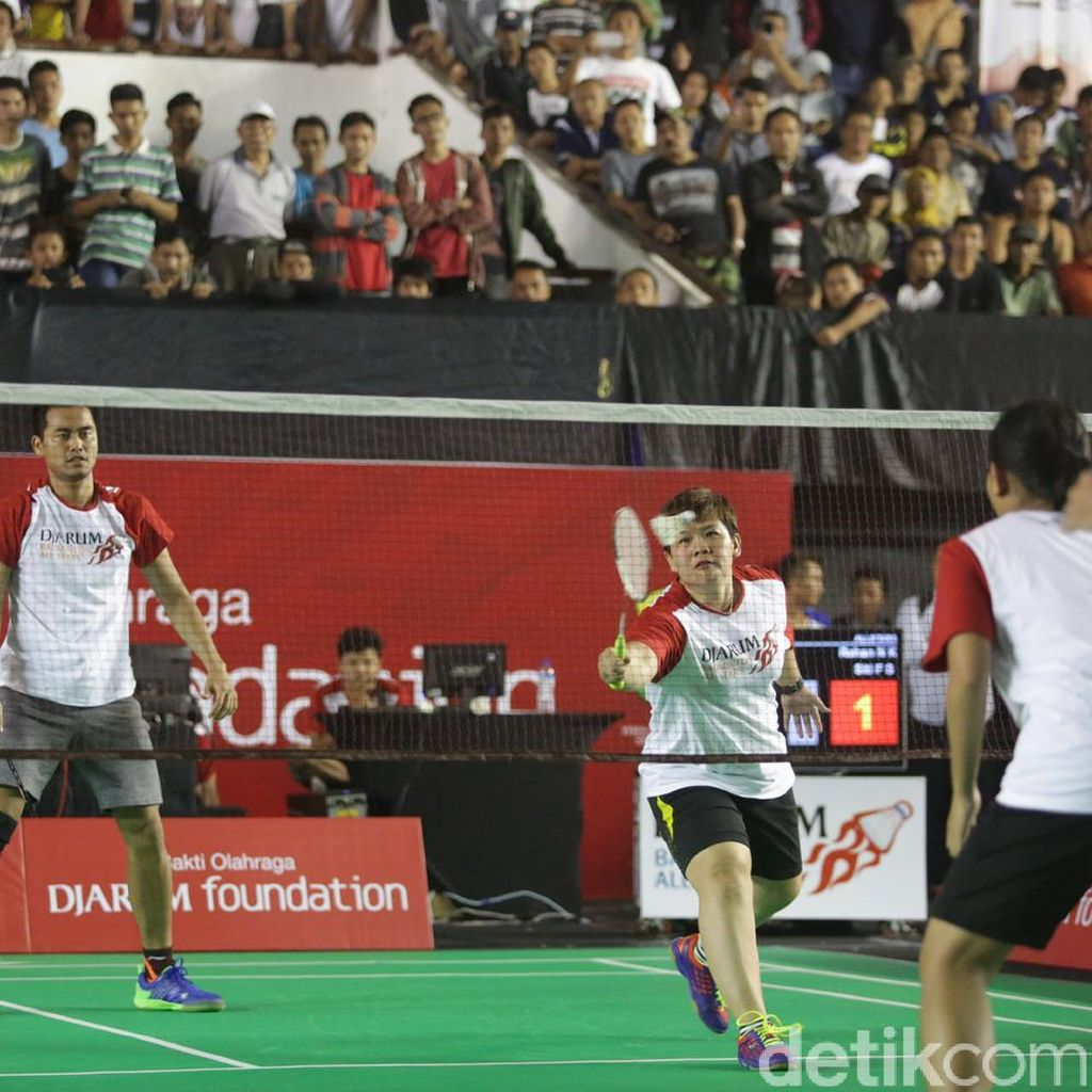 Terhibur di Djarum Badminton All Star