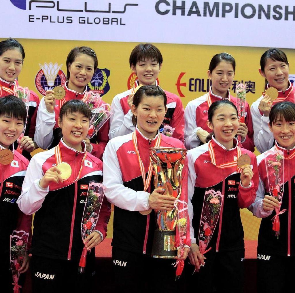 Tim Putri Jepang Kalahkan China di Final