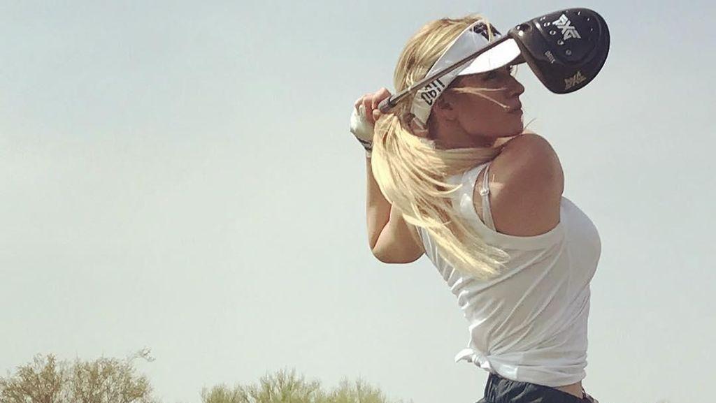 Olahraganya Paige Spiranac, Pegolf Cantik yang Dibully karena Terlalu Seksi