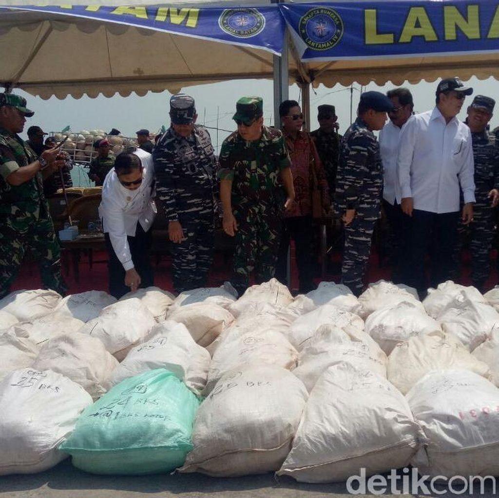 Polri: Tersangka dan 1,8 Ton Sabu di Kepri akan Dibawa ke Jakarta