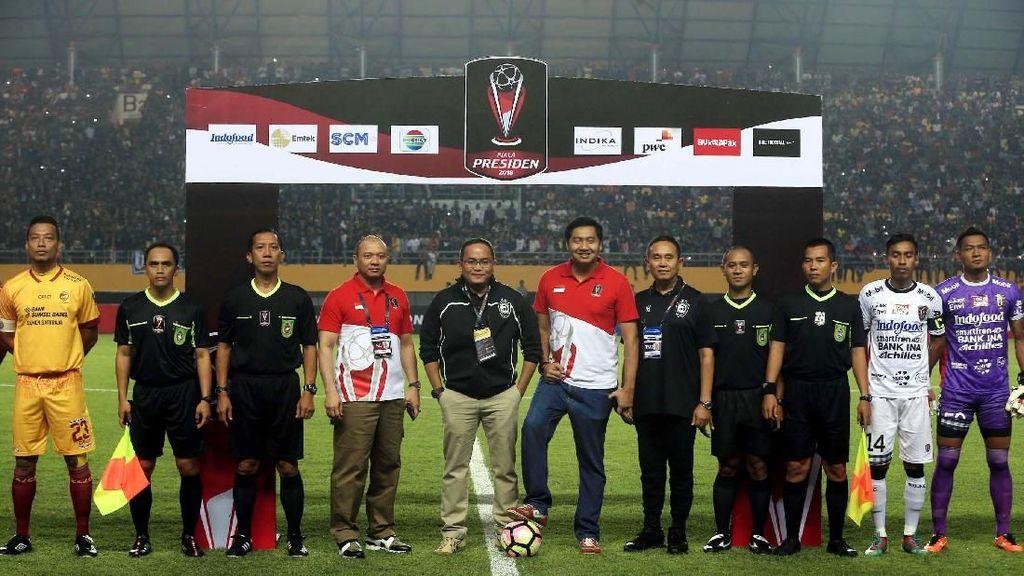 Ketika Ketua SC Piala Presiden Sambangi Markas Sriwijaya FC