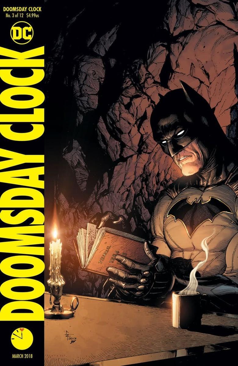 Marvel Comics dan Doomsday Clock #3 Rajai Penjualan Komik di Amerika