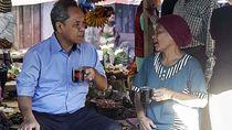 Cagub NTT Benny K Harman Blusukan ke Pasar