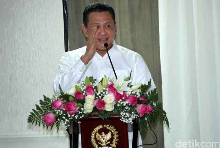 Ketua DPR Bambang Soesatyo (Foto: Lamhot Aritonang)