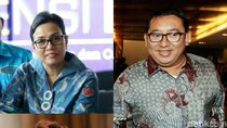 Respons Menteri Susi dan Sri Mulyani Saat Disindir Fadli Zon