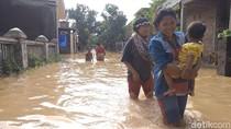 Seribuan Rumah di Astanajapura Cirebon Terendam Banjir