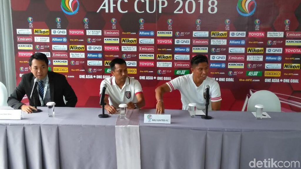 Main di Kandang Sendiri, Bali United Takkan Biarkan Lawan Curi Poin