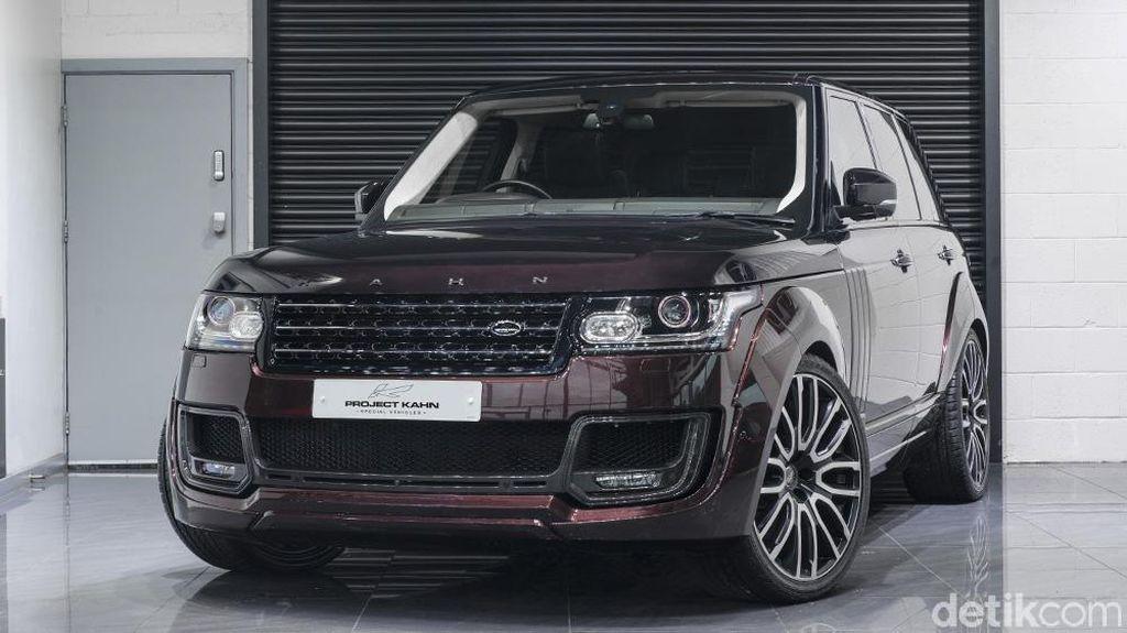 Range Rover Ini Pakai Warna Campuran Hitam dan Merah