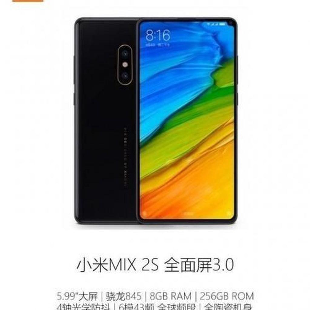 Mi Mix 2S Punya Fitur Slow Motion Video, Xiaomi?