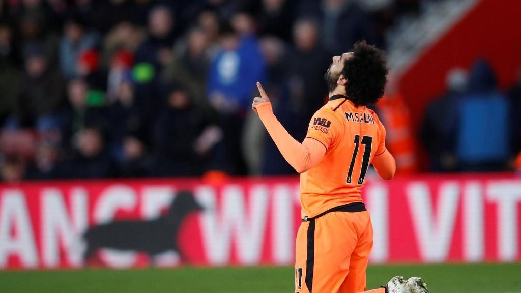 Chant Fans Liverpool: Salah Bikin Beberapa Gol Lagi, Kami Akan Jadi Muslim
