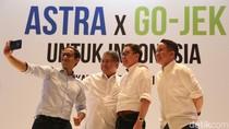 Astra Gandeng Go-Jek, Kucurkan Rp 2 Triliun