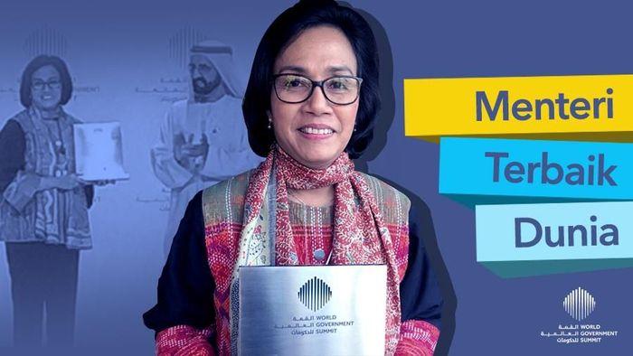 Sri Mulyani Jadi Menteri Terbaik Dunia