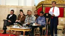 Jokowi Pimpin Sidang Kabinet Paripurna di Istana Negara