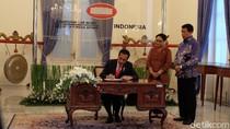 Jokowi Buka Raker Diplomasi Zaman Now di Gedung Pancasila