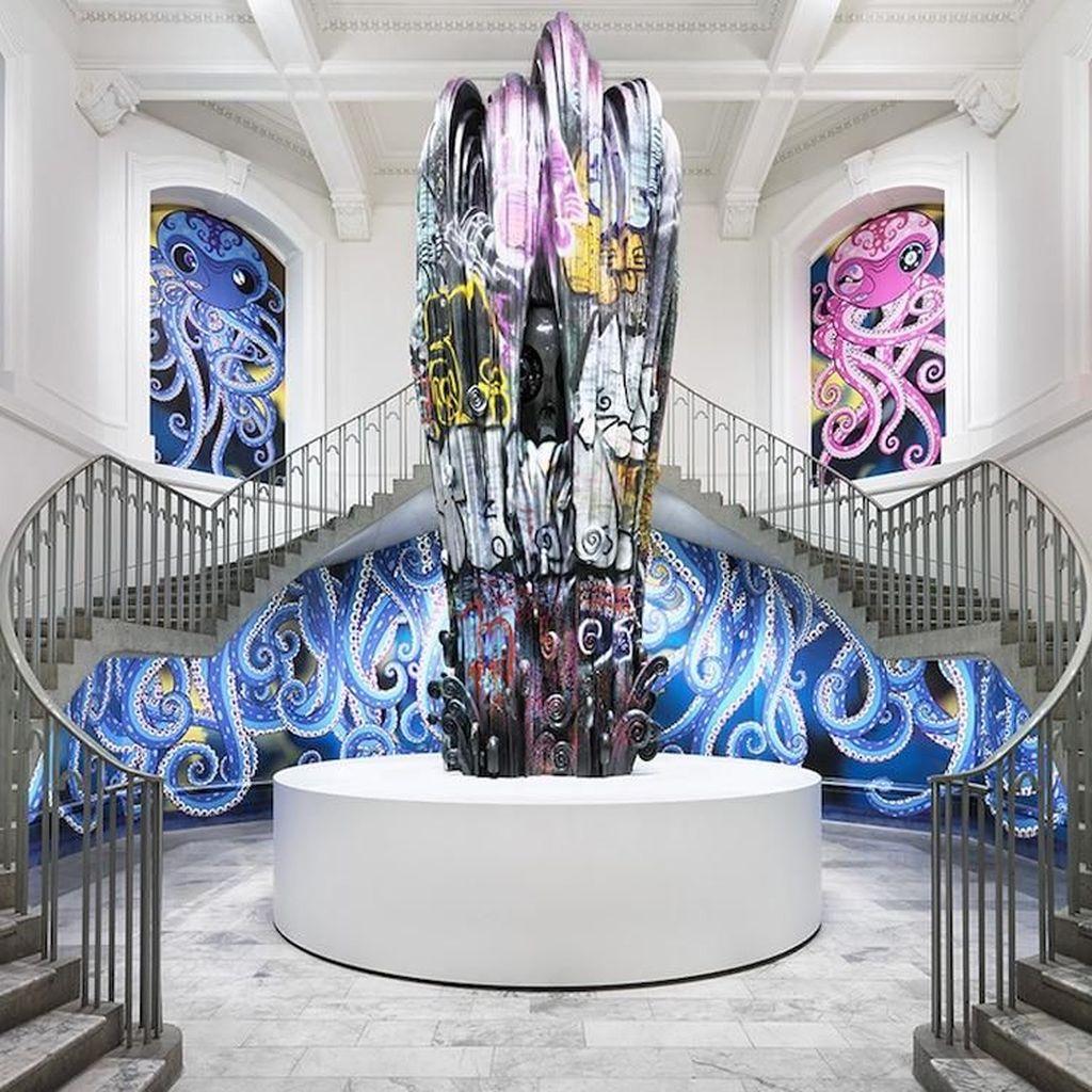 Gurita-gurita Bergaya Pop Art Ini Buatan Seniman Jepang
