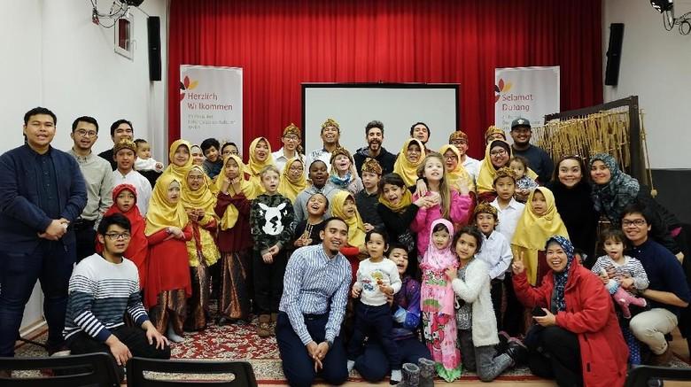 Mengenalkan Indonesia pada anak-anak Jerman (Rima Agustine/Istimewa)