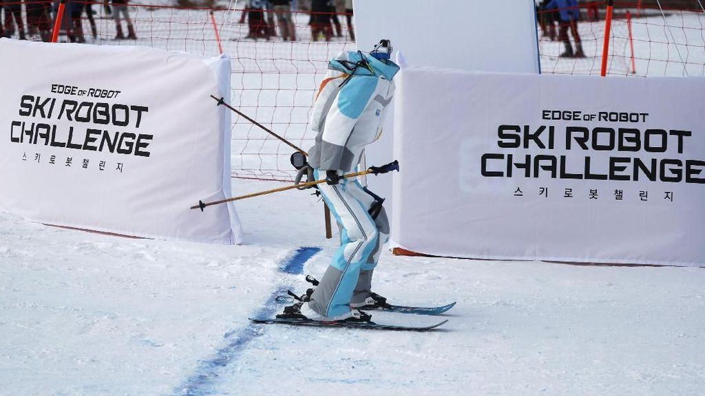 Bagaimana Jadinya Jika Robot Berlomba Ski?