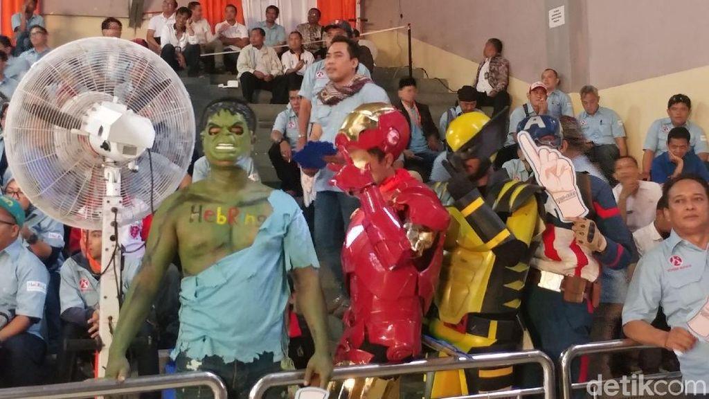 Avenger Hingga Geng Kribo Ramaikan Undian Norut Pilwalkot Bandung