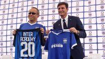 Zanetti Hadiri Peluncuran Akademi Persib
