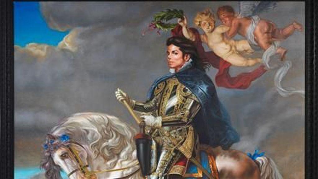 Pelukis Potret Barack Obama Juga Pernah Melukis Michael Jackson