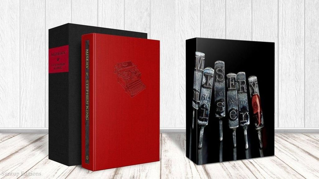 Novel Horor Stephen King Misery Cetak Ulang dengan Ilustrasi Terbaru