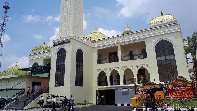 Masjid Arif Nurul Huda Terbesar di Polda se-Indonesia