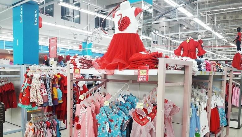 Foto: Fashion Imlek Si Kecil (Transmart Carrefour)