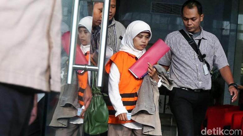 Anggota DPRD Kebumen Dian Lestari Ditahan KPK