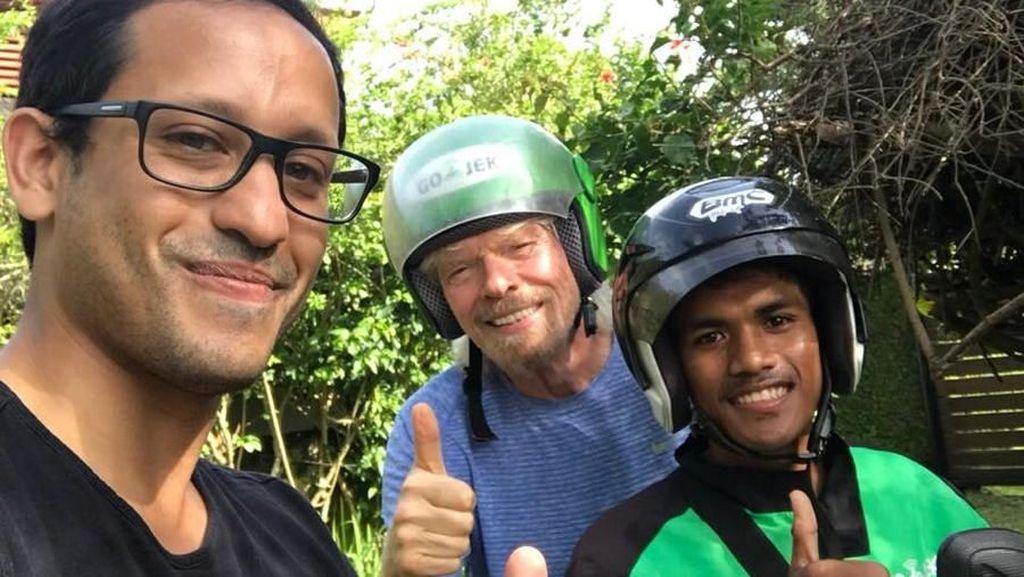 Heboh! Richard Branson Hingga Ratu Belanda Jajal Go-Jek